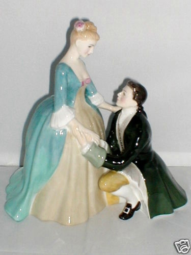 The Suitor Royal Doulton Figurine