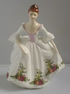 photo of Country Rose Figurine