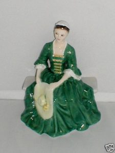 A Lady from Williamsburg Royal Doulton Figurine