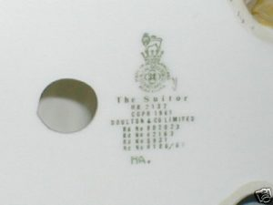Photo of the figurine base stamp