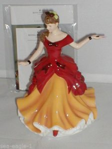 BELLE Royal Doulton Bone China Figurine