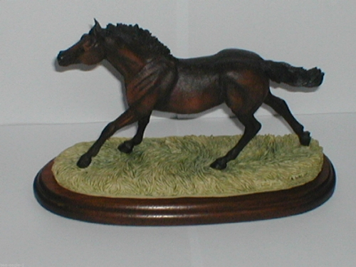 Border Fine Arts THOROUGHBRED STALLION