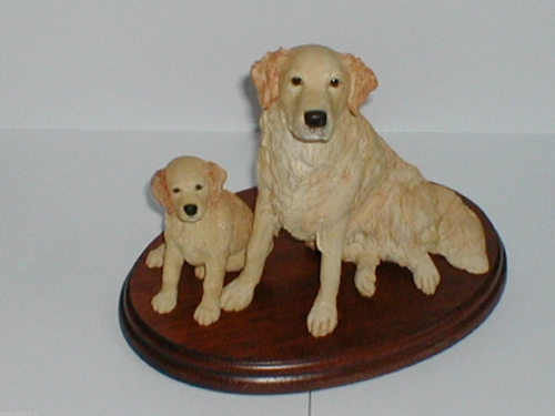 Border Fine Arts GOLDEN RETRIEVER AND PUP